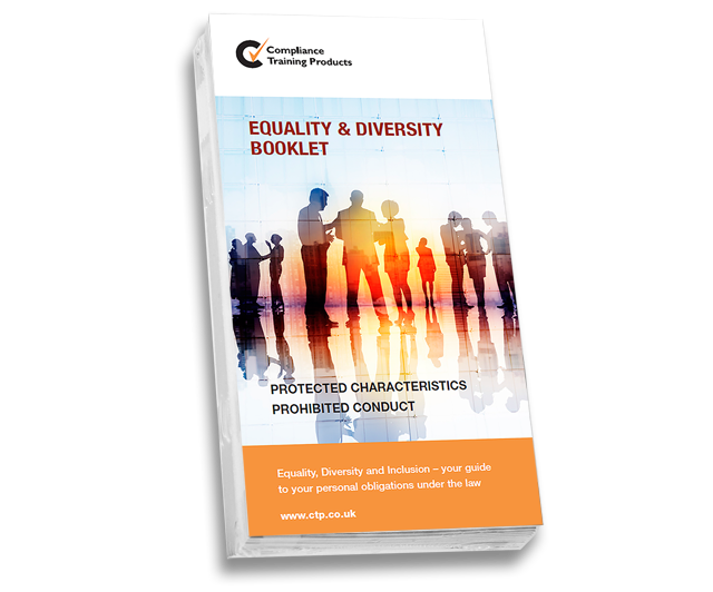 Product image showing equality and diversity booklets