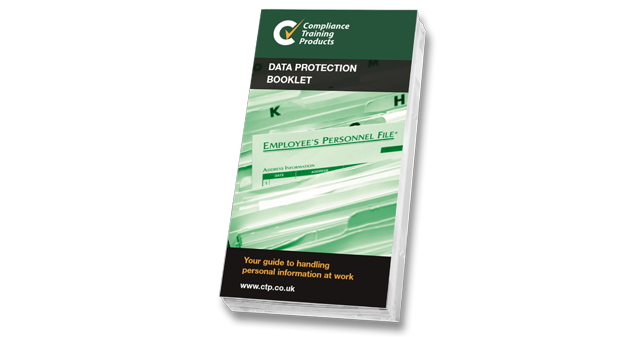 Data protection booklets
